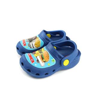 TOMICA 凉鞋式拖鞋 童鞋 蓝色 中童 TM0803 no754