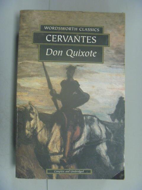 ~書寶 書T1/原文小說_LEF~Don Quixote_ Cervantes