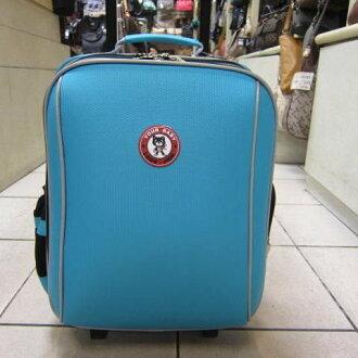 ~雪黛屋~YOUR-BABY 加大拉桿書包大容量設計個人登機箱旅行置物手提後背拉桿可A4資夾#3310