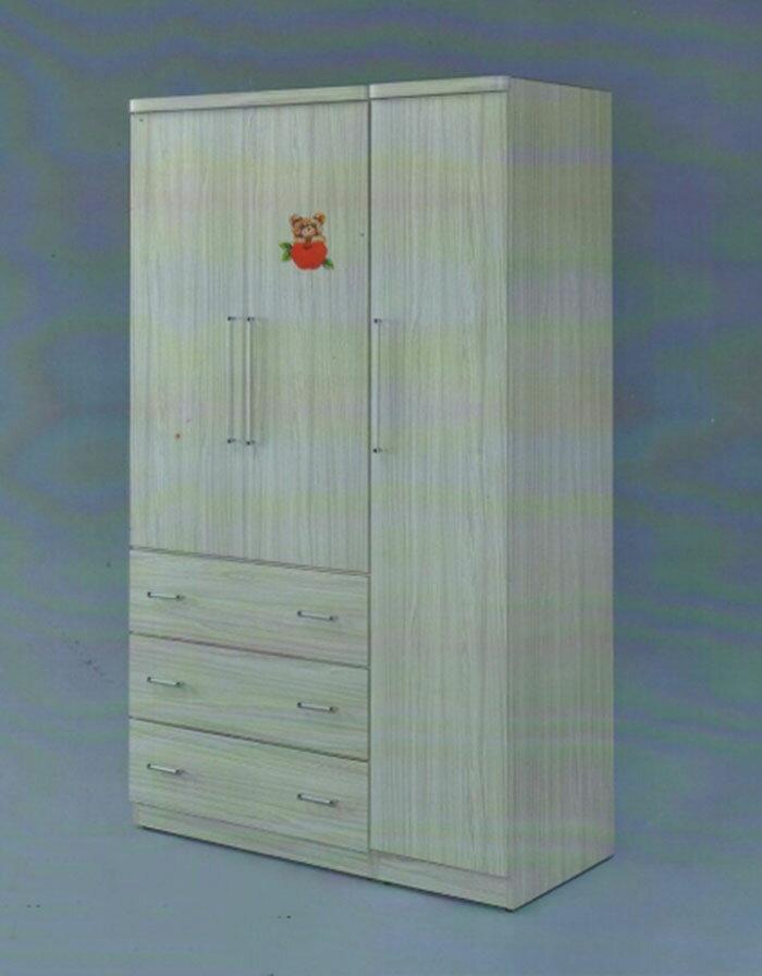 【尚品家具】GF-V03 橡木/雪松白4*7尺彩繪衣櫃/衣櫃/櫥櫃/衣櫥/收納櫃/衣物整理櫃/Wardrobe
