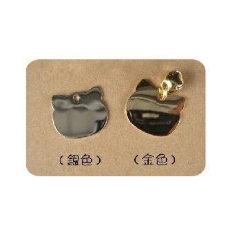貓臉吊牌(加刻字服務-金色)  可超取(K372A01) 1