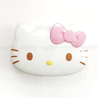 HELLO KITTY 濕紙巾盒 濕紙巾 無香精酒精 80張 大臉款 嬰幼兒 居家 正版日本製造進口 JustGirl