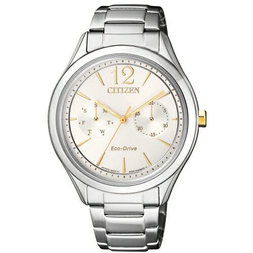 CITIZENLADYS經典優雅光動能腕錶FD4024-87A