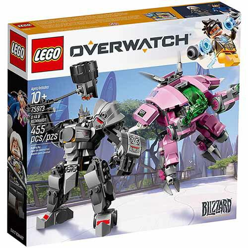 樂高LEGO 75973 SPEED CHAMPIONS 系列 - D.Va & Reinhardt - 限時優惠好康折扣