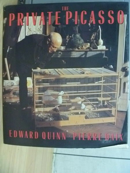 【書寶二手書T5/攝影_YCL】The Private Picasso_Edward Quinn/Pierre Daix
