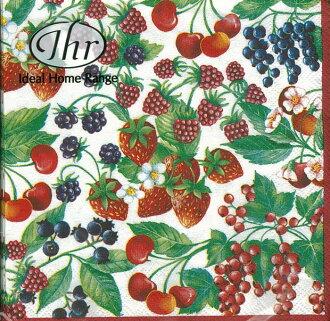 莓果-德國 IHR 餐巾紙(25x25cm)
