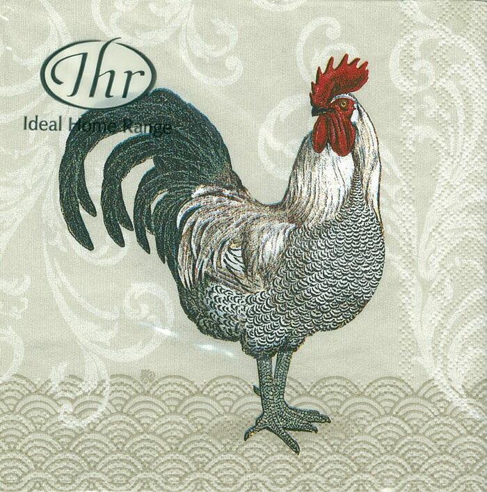 公雞先生-德國 IHR 餐巾紙(25x25cm)