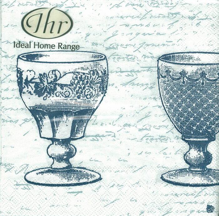 晚宴(藍)-德國 IHR 餐巾紙(25x25cm)