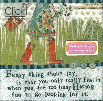 Funny Things-德國 IHR 副品牌 Click moments 餐巾紙