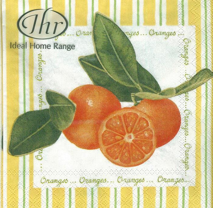 柑橘-德國 IHR 餐巾紙(25x25cm)