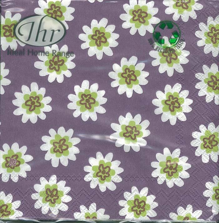 紫星花花-德國 IHR 餐巾紙(25x25cm)
