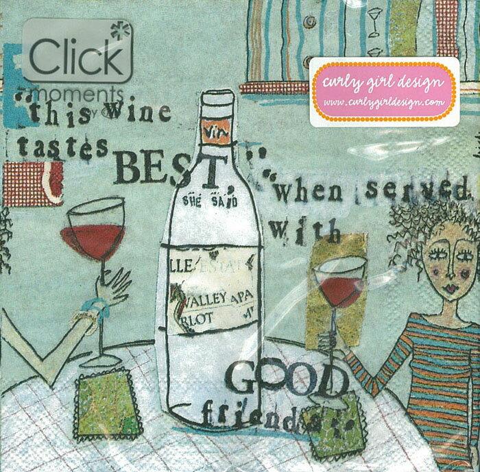Wine-德國 IHR 副品牌 Click moments 餐巾紙