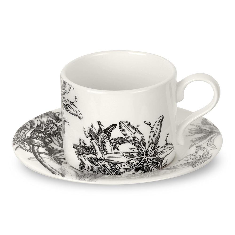 百子蓮280ML茶/咖啡杯盤組