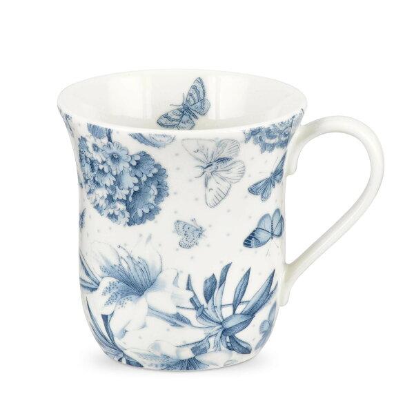英國Portmeirion植物藍280ML馬克杯