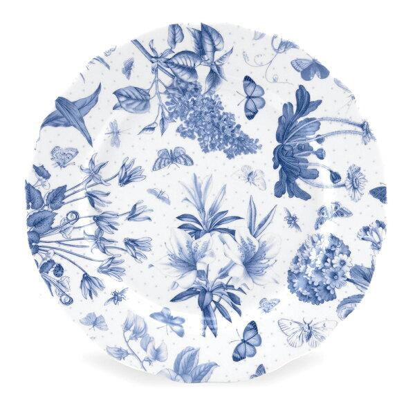 英國Portmeirion植物藍21CM(8.5吋)中盤