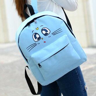 後背包-貓咪日系Q版大容量後背包 包飾衣院 P1517 現貨
