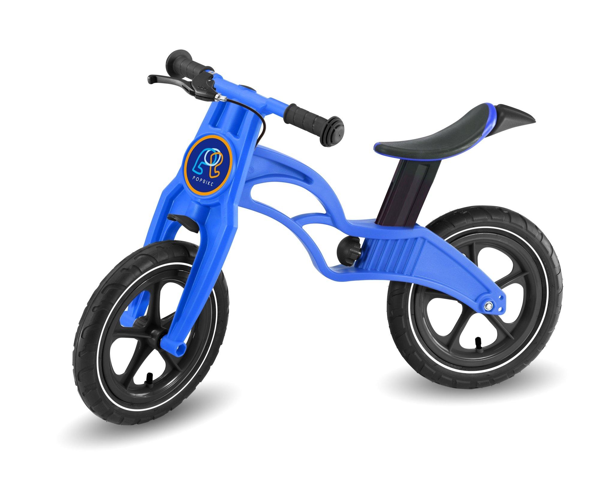 Pop Bike 兒童滑步車 / 平衡車 / 學步車 /  - 煞車版 氣胎 藍色 - 限時優惠好康折扣