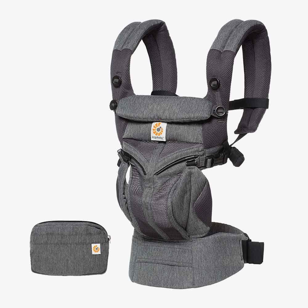 Ergobaby Omni全階段型四式360透氣款嬰兒揹巾/揹帶-經典織紋