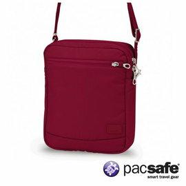 Pacsafe CITYSAFE CS150 休閒斜肩包 女 蔓越莓紅色 |防盜|肩背|旅遊|