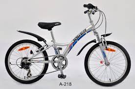 【7號公園自行車】JOKER 傑克牌 A-218 20吋6速炫童車 銀