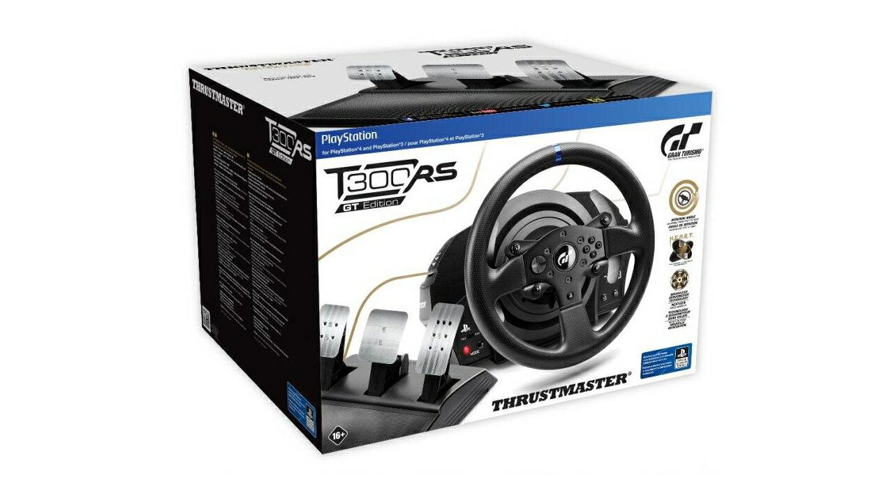 現貨供應中 公司貨 一年保固 [PS3 周邊] PS4 Thrustmaster T300 RS GT EDITION 方向盤