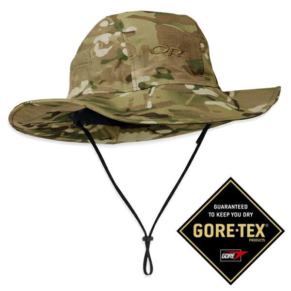 【OutdoorResearch美國】MULTICAMSEATTLE限量軍規防水圓盤帽Gore-Tex遮陽帽迷彩帽/259578-0968