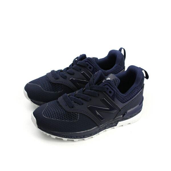 New Balance 574 運動鞋 復古鞋 深藍色 中童 童鞋 KFA5743P no303