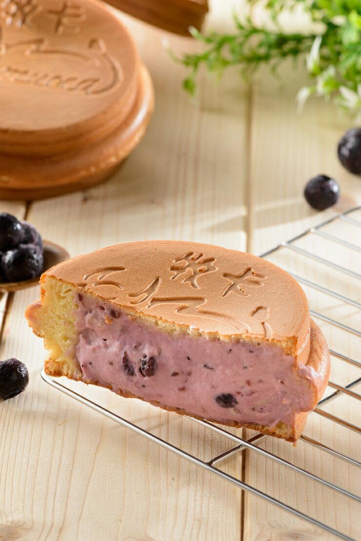 【牧卡燒 野莓乳酪 一盒八入】全台最大爆餡紅豆餅 下午茶 團購 點心 銅板美食