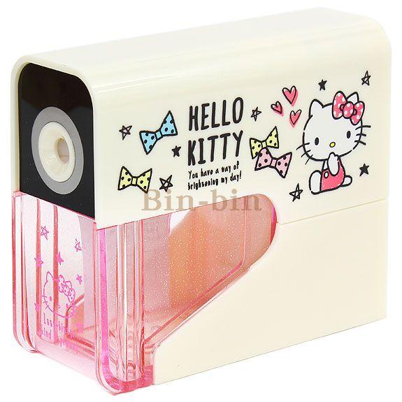 Hello Kitty 電動削鉛筆機/756-618