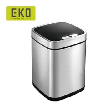 EKO 臻美自動感應不鏽鋼垃圾桶 6L(2色) 1