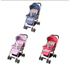【淘氣寶寶】MAMALOVE-透氣網輕量雙向推車(藍色/紫色/紅色)SK40A【保證原廠公司貨】