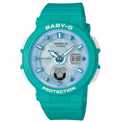 CASIO卡西歐BABY-GBGA-250-2A海洋靈感霓虹雙顯流行腕錶