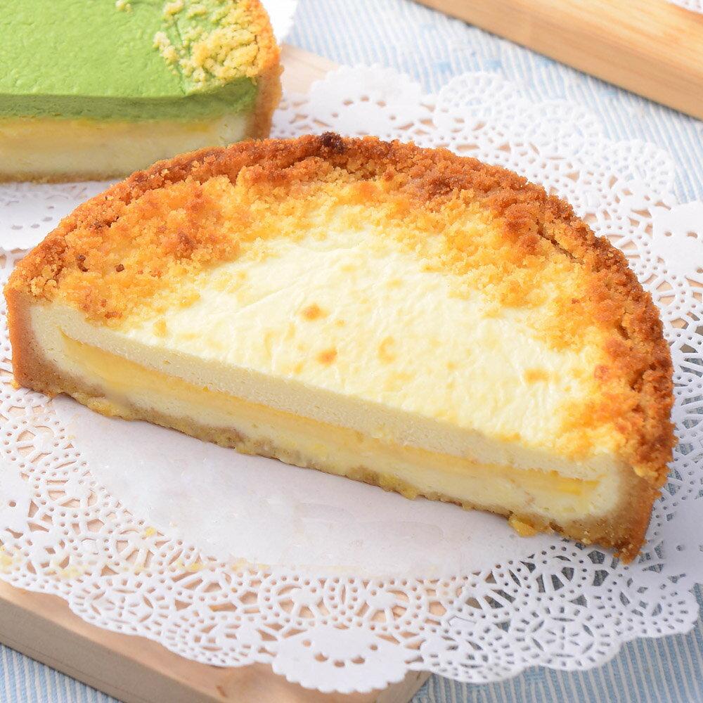 【艾波索.芝心半熟乳酪蛋糕4吋】起司乳酪控最愛!經典乳酪搭配芝心起士口味鹹甜交錯,經典絕佳的味覺組合 0
