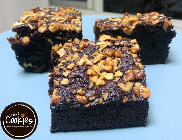 【裸餅乾Naked Cookies】手工核桃布朗尼 蛋糕 甜點