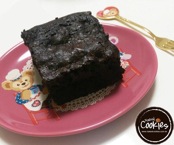 【裸餅乾Naked Cookies】手工原味巧克力布朗尼 蛋糕 甜點