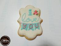 餅乾=你是我的朋友推薦到【裸餅乾Naked Cookies】情人節6入-創意手工糖霜餅乾,婚禮/生日/活動/收涎/彌月就在裸餅乾 Naked Cookies推薦餅乾=你是我的朋友