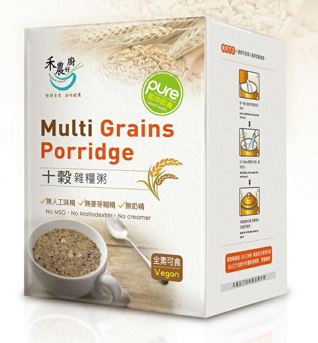 禾農 十穀雜糧粥 35gx10包/盒