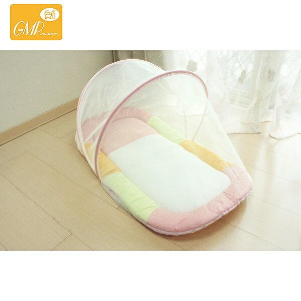 【安琪兒】【GMP BABY】寶寶專用蚊帳睡墊-粉/藍 0