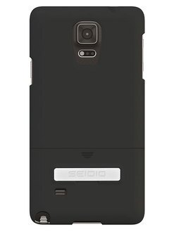 SEIDIO SURFACE™ 極簡時尚保護殼 for Samsung GALAXY Note 4 - 鐵漢黑