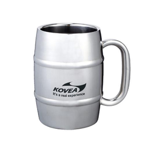Kovea 韓國 | SM不鏽鋼酒桶型馬克杯500 | 秀山莊(KK8BT0207)