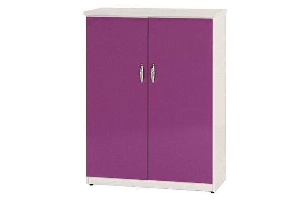 【石川家居】856-08(紫白色)鞋櫃(CT-311)#訂製預購款式#環保塑鋼P無毒防霉易清潔