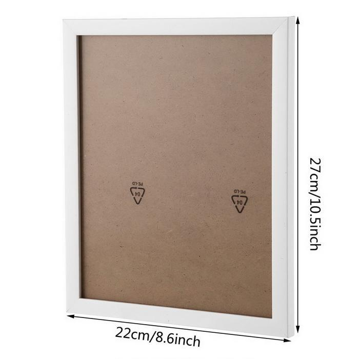11 Pieces White Wall Hanging Decor Picture Frame Set 3