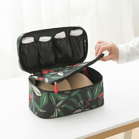 ♚MY COLOR♚花草系列內衣收納包 內衣 襪子 旅行 收納 整理 雜物 分裝 出國 旅