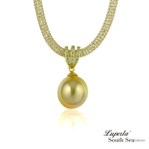 大東山珠寶 燦爛之星 頂級南洋金珍珠項鍊 極致閃耀 0