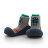 【本月特價$599】韓國【Attipas】快樂腳襪型學步鞋-機器人系列(藍底) - 限時優惠好康折扣