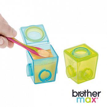 【本月限時7折起】英國【Brother Max】 副食品分裝盒-(大號4盒) - 限時優惠好康折扣
