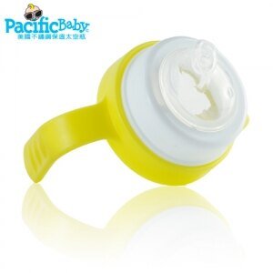 美國【PacificBaby】學習配件組-鴨嘴型矽膠奶嘴+學習杯握把(顏色隨機出貨) 2