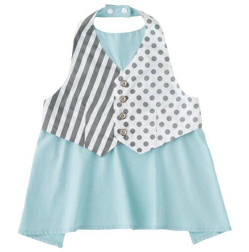 日本【MARLMARL】garcon兒童圍裙圍兜(條紋100~110cm) 0