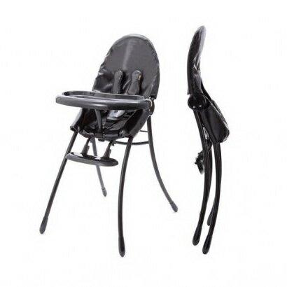 美國【Bloom】可折疊都會風黑框餐椅