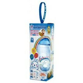 台灣【第一寶寶】二代免洗奶瓶可調式粉彩瓶(藍色) - 限時優惠好康折扣